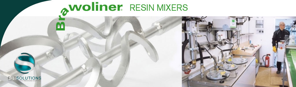 fdt solutions brawoliner resin mixers